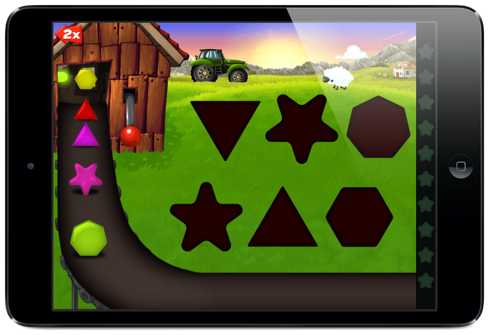 My Shapes & Colors Farm Puzzle